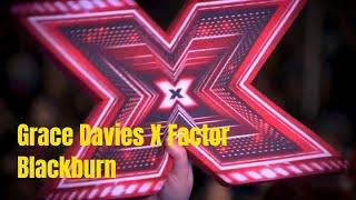Grace Davies and Sharon Osbourne - X Factor Homecoming Blackburn 2017