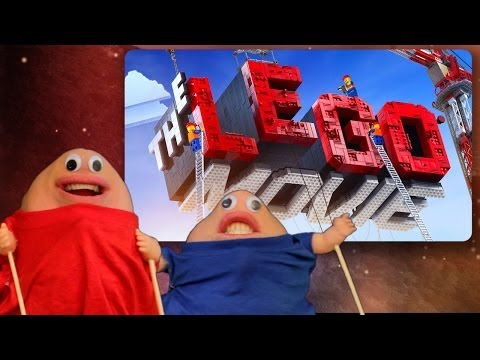 LEGO Movie review parody - Two Chins in Hollywood