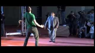 Maradona dominando el balón vs el ganador del Freestyle Guinness World Records Wass Benslimane