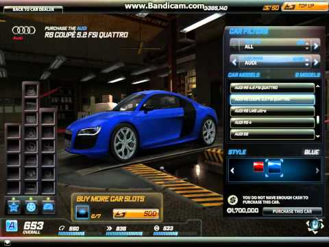 Advertisement   Need For Speed World Soon I Will Buy Audi R8 Fsi #3 video