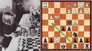 A Shocking Game Played By A 5 Year Old Chess Prodigy Jutta Hempel
