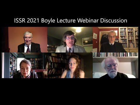 ISSR 2021 Boyle Lecture Webinar Panel Discussion