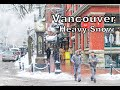 Vancouver Heavy Snow 2019 Feb 12