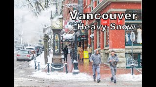 Vancouver Winter Heavy snow 2019-Feb-12