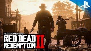 Red Dead Redemption 2 - Gameplay Oficial PS4 en Español