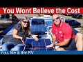 RV Solar Installation Cost (IT WAS HOW MUCH??) - Full Time RV