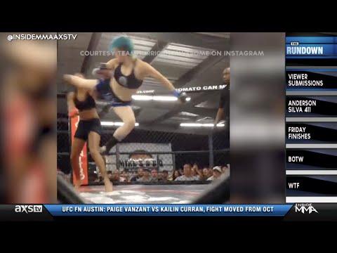 A 5 Second Spinning Heel Kick KO Plus The Karate Clerk on Inside MMA