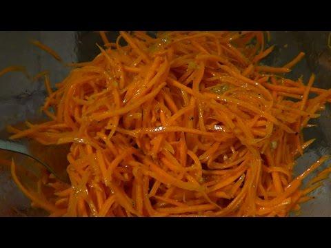 Морковь По-Корейски за 10 минут. Самый Вкусный рецепт салата