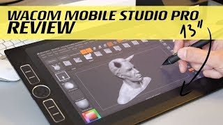 "Wacom Mobil Studio Pro 13"" Review / Workflow"