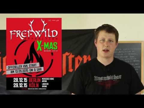 AGF-Nachrichten 11.05.2015 [Frei.Wild-News, Wilde Jungs Video, Herzlos Live-CD...]