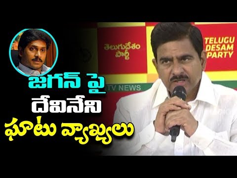 Minister Devineni Uma Satires On Jagan Political Career | TDP Reacts To YCP Comments | Indiontvnews