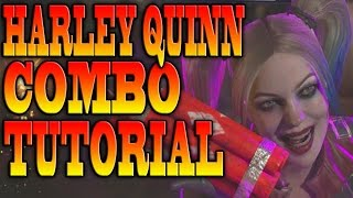 Injustice 2 HARLEY QUINN COMBOS! - HARLEY QUINN COMBO TUTORIAL