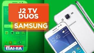 Conheça o Smartphone Samsung Galaxy J2 TV Duos | Casas Bahia