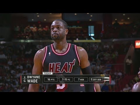 2014.02.23 - Dwyane Wade Full Highlights vs Bulls - 23 Pts, 10 Reb, 7 Assists