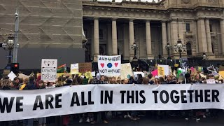 Youth step up global protests to fight climate change