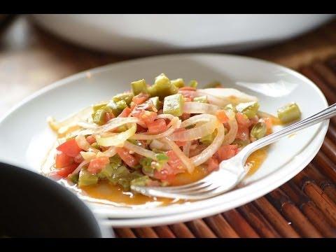 Nopales a la mexicana - Mexican nopales recipe - Recetas vegetarianas