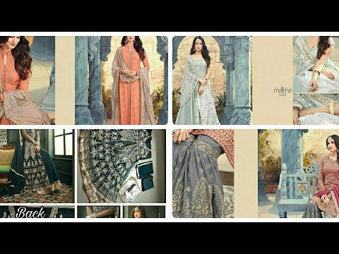 Designer anarkali/dress materials at affordable price ||affordable clothing haul india||indianclothi