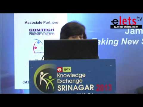eGov KE Srinagar 2013 -  ICT Infrastructure in Government Sector - Renu Budhiraja