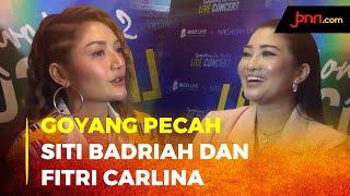 Siti Badriah dan Fitri Carlina Antusias Goyang di Konser Virtual - byhtbf.cn