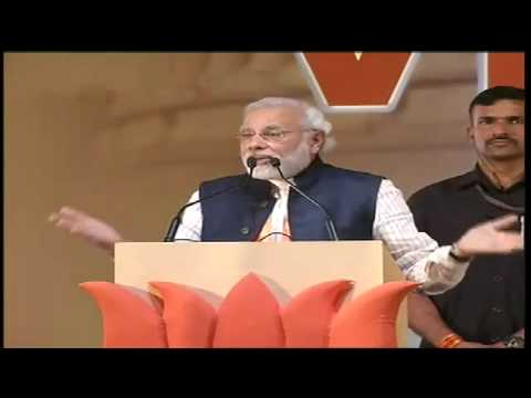 Shri Narendra Modi addressing Vijay Sankalp Rally at Panaji, Goa - Speech