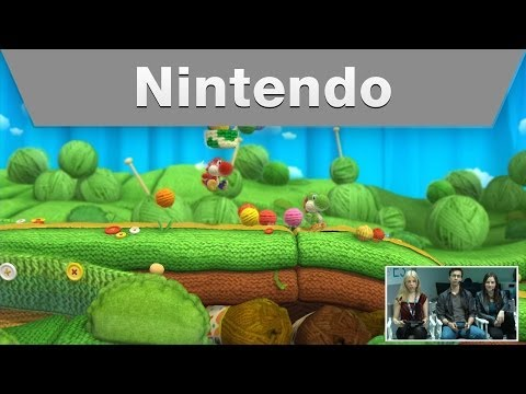Nintendo Treehouse: Live @ E3 2014 -- Day 2: Yoshi's Woolly World