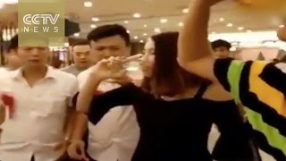 Footage: Young woman dies after excessive wedding drinking