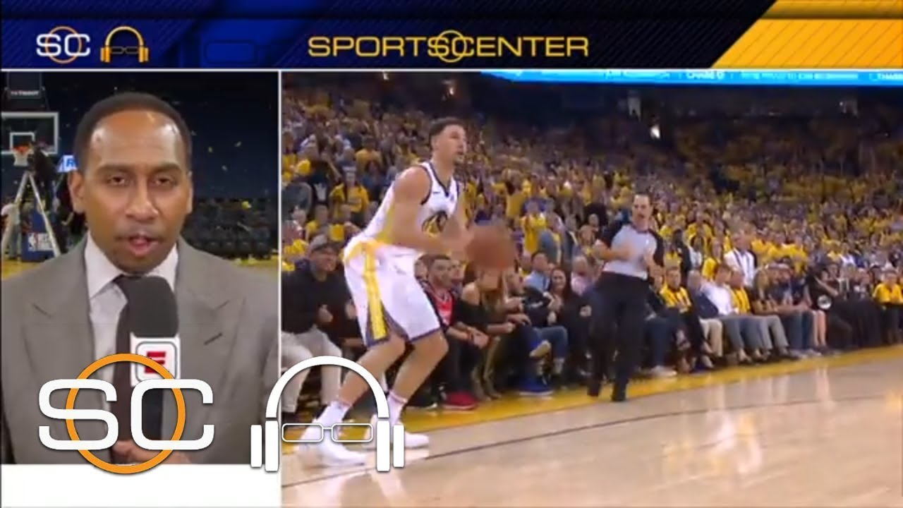 Stephen A. praises Klay Thompson after Game 6: 'He was everything tonight' | SC with SVP | ESPN