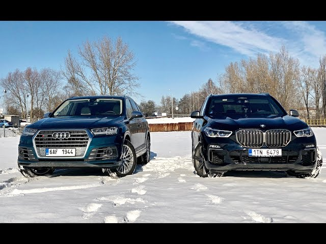 BMW X5 M50d vs Audi SQ7 thumbnail