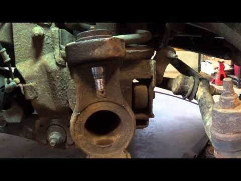 Quick Tip: Dodge Ram front wheel hub removal