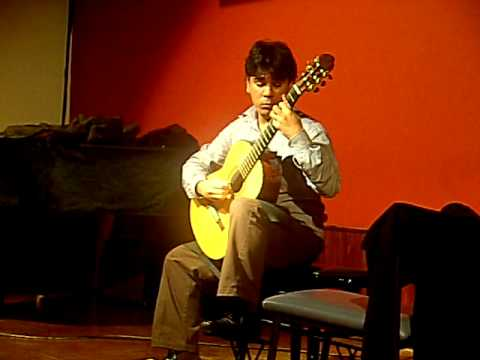 Ericsson Castro plays Ricercare by Francesco da Milano