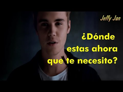 Skrillex and Diplo - Where Are U Now (feat. Justin Bieber) [Letra en Español]