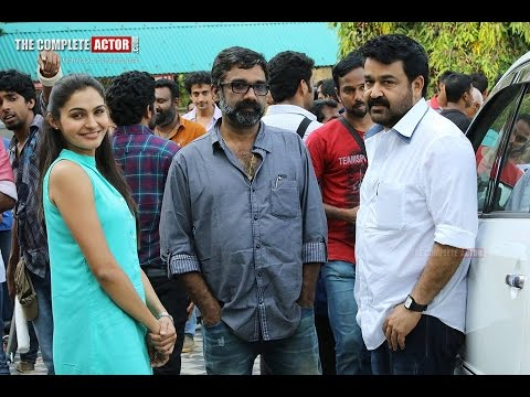 Mohanlal, Manju Warrier, Lena in Sathyan Anthikad  untitled movie shooting Location