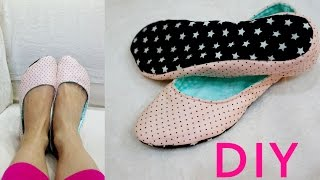 How to make a home slippers