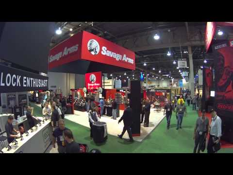 A Panoramic View of SHOT Show 2014 with the AEE S70 HD Camera