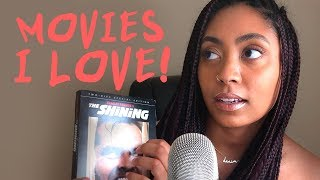 ASMR - MOVIES I LOVE (Whispered Movie Review, Tapping)