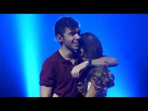 The Wanted - Heart Vacancy Club Nokia 10/18/13 | Ariana on the stage