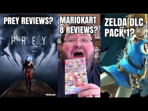 Gaming News - Prey Reviews. Mario Kart 8 Reviews. Zelda DLC Pack. 2ds XL