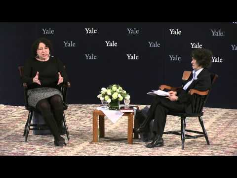 U.S. Supreme Court Justice Sonia Sotomayor Visits Yale