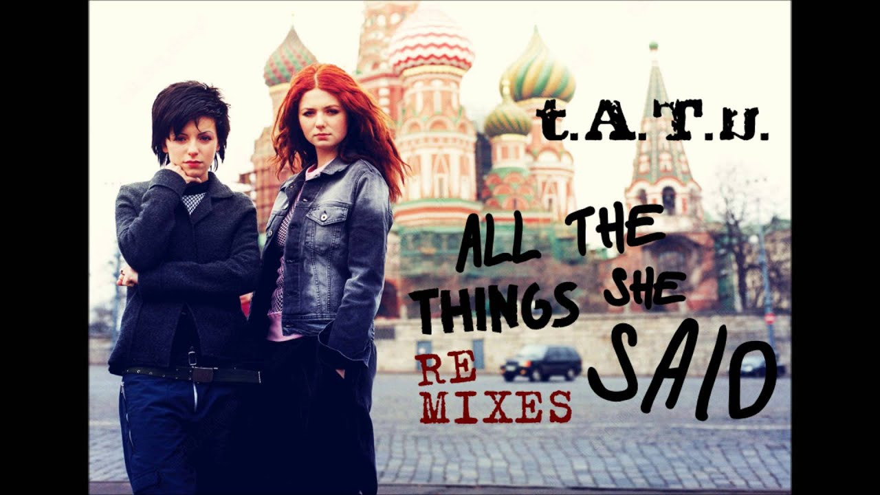 all the things she said: