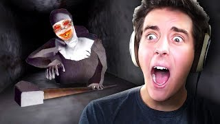 SHE CAN CRAWL?!! | Evil Nun (Mobile Horror Game)