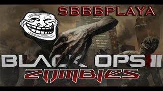 Ninth Zombie Trolltage (Death Revives, No Free Perk, Afterlife) | Black Ops 2