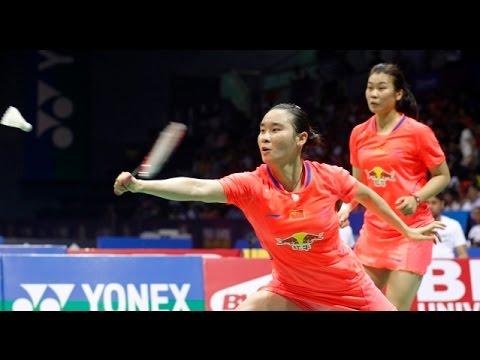 Badminton 2015 | Chinese Taipei Open 2015 FINALS | Maheswari/Polii vs Luo Ying/Luo Yu