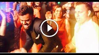 Virat Kohli, Yuvraj, Shikhar Dhawan dance at Harbhajan reception |Cricket |FUNNY