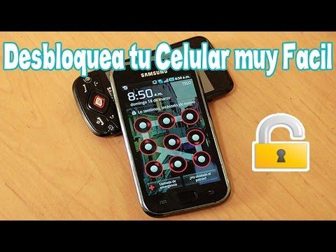 Como Desbloquear Celular o Tablet Android 2015   Facil