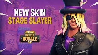 NEW Stage Slayer Skin!! - Fortnite Battle Royale Gameplay - Ninja