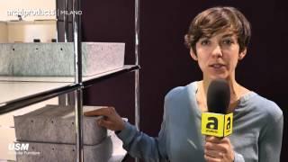 Salone del Mobile.Milano 2016 | USM - Laure Krayenbühl, Stephanie Borge