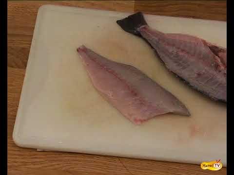 Préparer la daurade et les poissons plats à 2 filets