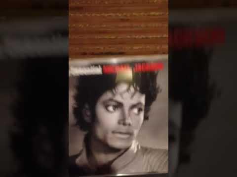 Michael Jackson CD collection