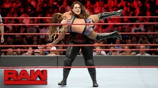 Nia Jax vs. Emma: Raw, Aug. 21, 2017