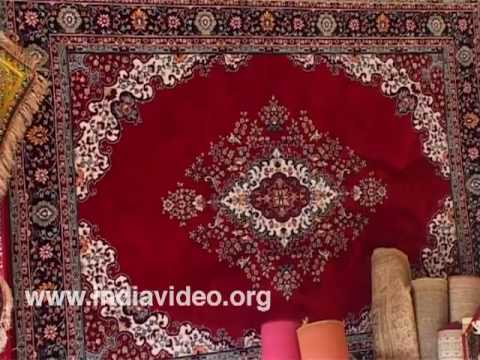 The dainty carpets from Delhi